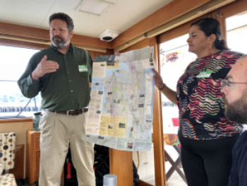 Instructors explain the Duwamish history