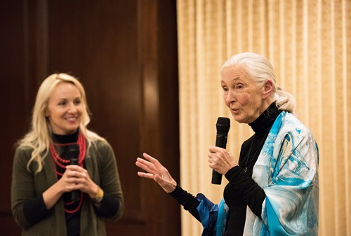 Jane Goodall and Philanthropic Advisor Jane Goodall