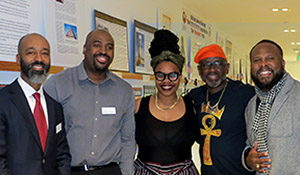 Black History Month Gallery Reception speakers