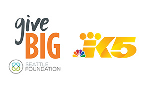 King 5 logo with givebig logo small banner