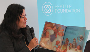 Maya Soetoro-Ng reads her children's book aloud