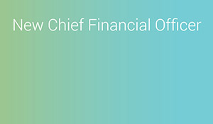 New Chief Financial Officer