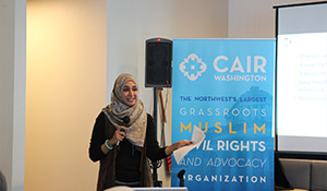 Resilience Fund grantee Council on American Islamic Relations hosts an anti-harassment training