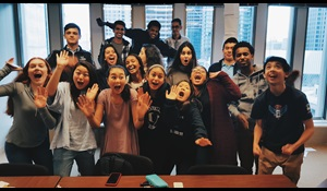 Youth Grantmaking Board Group Photo