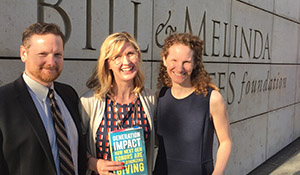 Authors of Generation Impact with Seattle Foundation staff
