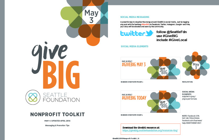 GiveBIG Toolkit 4 - Media and Messaging