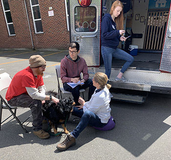 Seattle Veterinary Outreach's mobile vet clinic
